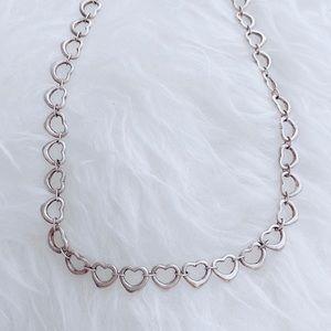 Tiffany & Co. Jewelry - RARE Vtg Tiffany & Co. Open Heart Necklace Toggle